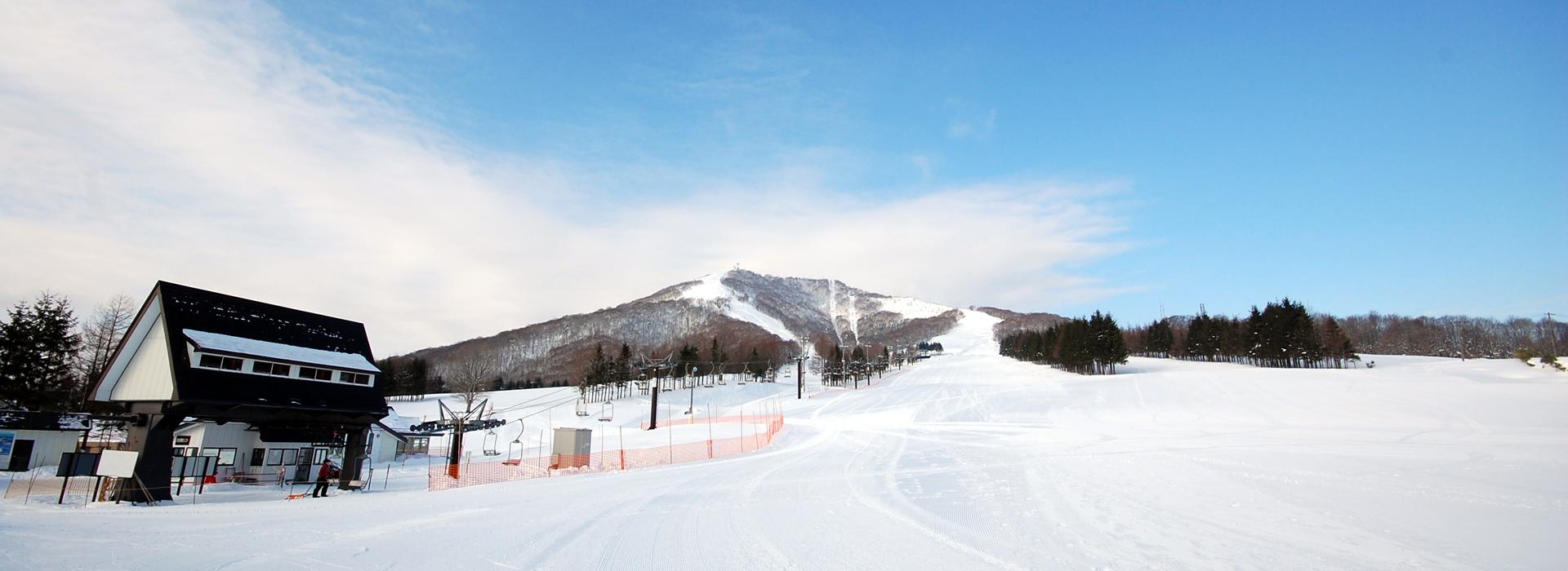 奥中山高原スキー場へは